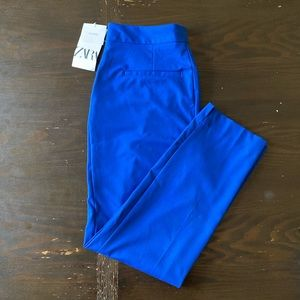 Zara Blue Trousers Size 4 PERFECT CONDITION ⭐️